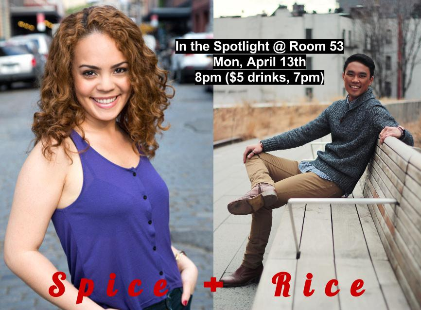 Monday, April 13th @ 8 PM                                              Room 53 (314 W 53rd Street)