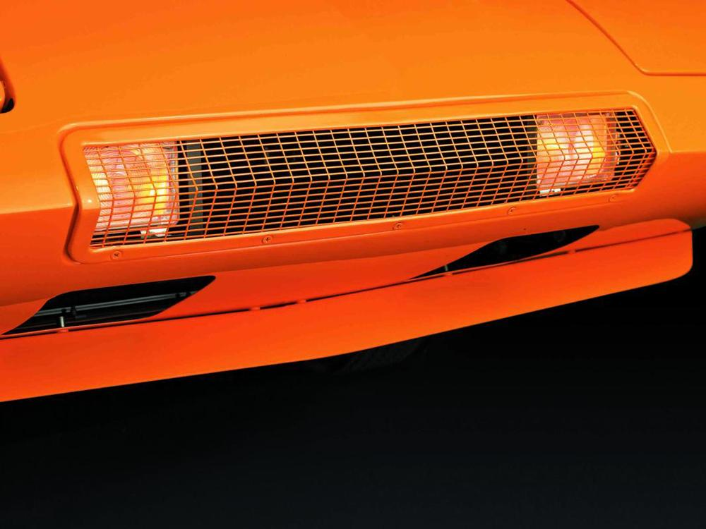 Dodge Charger Daytona 1969 orange grille.jpg