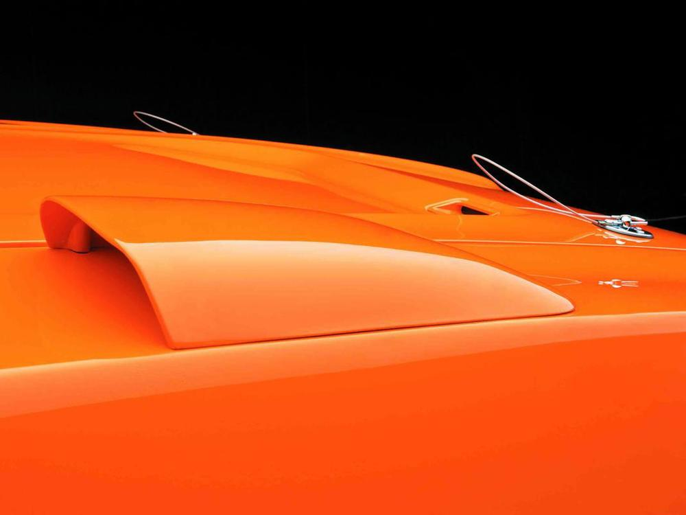 Dodge Charger Daytona 1969 orange fender vent.jpg