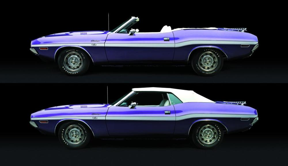 Dodge Challenger R-T convertible 1970 double profile.jpg