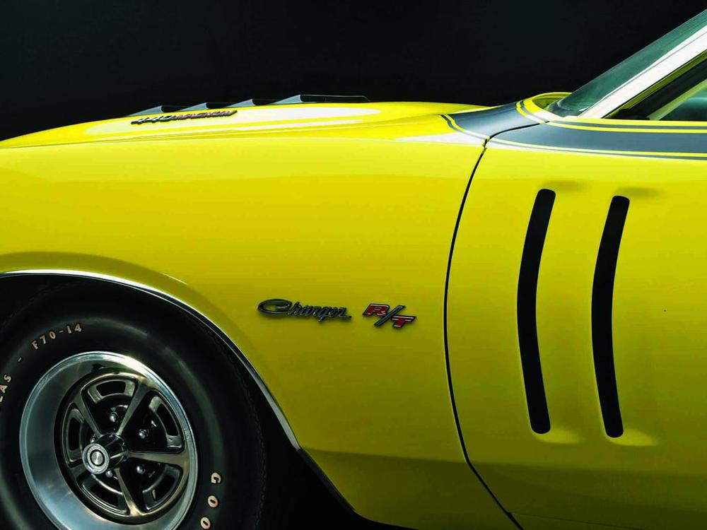 Dodge Charger R-T 440 Magnum 1971 yellow fender detail.jpg