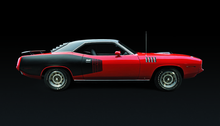 Plymouth Hemi 'Cuda 1971 profile