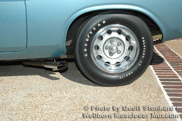 1970 Dodge Challenger T/A Survivor — Wellborn Musclecar Museum