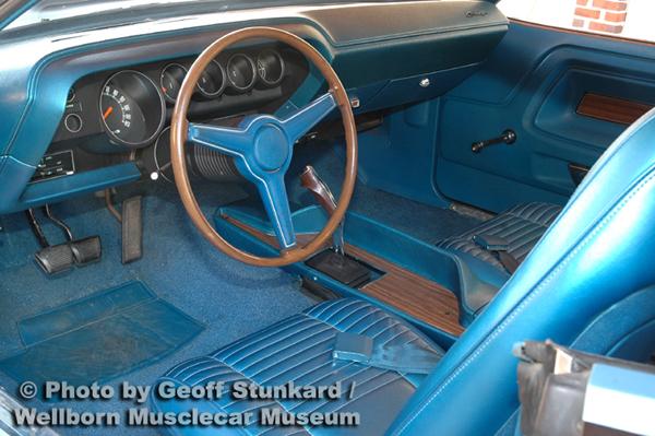 1970 Dodge Challenger T A Survivor Wellborn Musclecar Museum