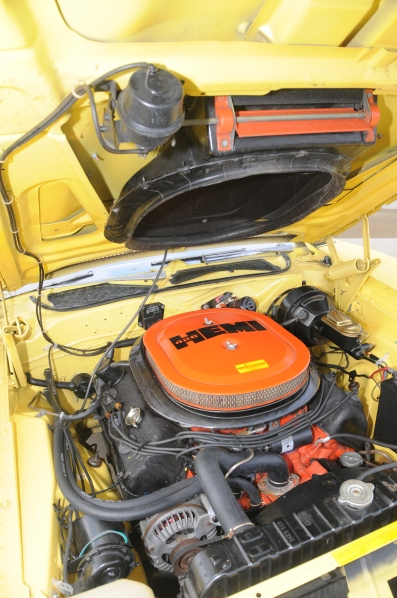 1971 Dodge Charger Hemi engine