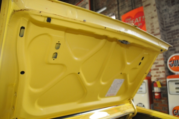 1971 Charger deck lid