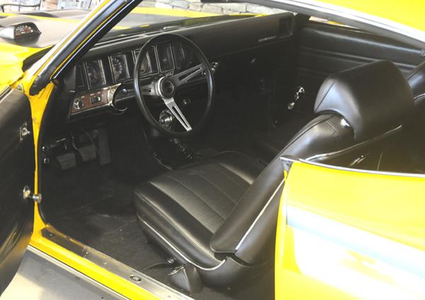 GSX interior