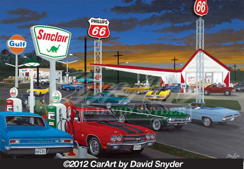 David Snyder Artwork Looks And Performance Wellborn Musclecar Museum