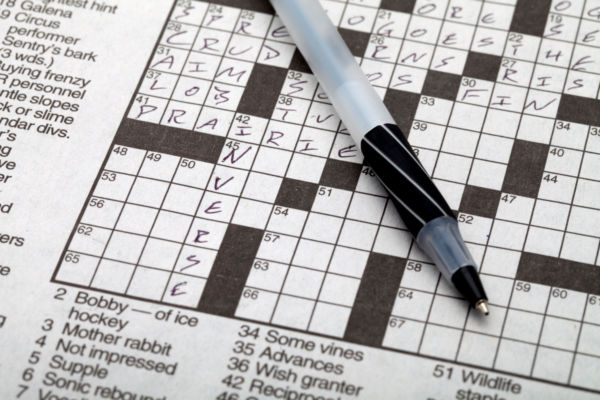 Complete Crossword or Word Search Puzzle