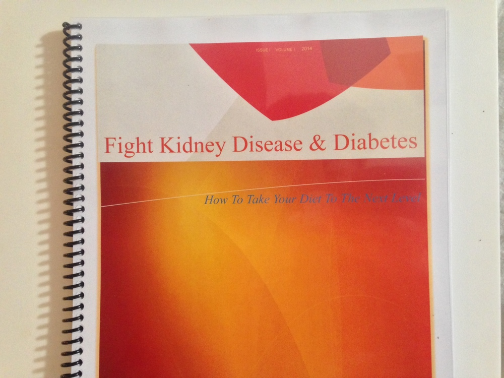 KidneyBuzz.com's new Diet Guide for individuals suffering with Chronic Kidney Disease  and diabetes contains many quick, easy-to-make, and truly delicious recipes.  You will also get some creative Life Management tips while supporting the daily tailored news coverage by purchasing this volume for only $10.00.Click Here.
