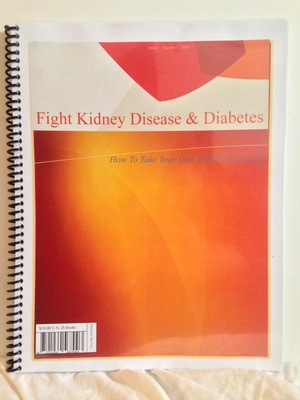TAKE A STEP FORWARD BY PICKING UP KIDNEYBUZZ.COM'S, FIGHT KIDNEY DISEASE AND DIABETES, DIET AND LIFE MANAGEMENT GUIDE! FOR JUST $10.00 TAKE YOUR DIET, WHETHER DIABETIC OR RENAL, TO A MUCH IMPROVED LEVEL, AND SUPPORT KIDNEYBUZZ.COM AT THE SAME TIME.  CLICK HERE.