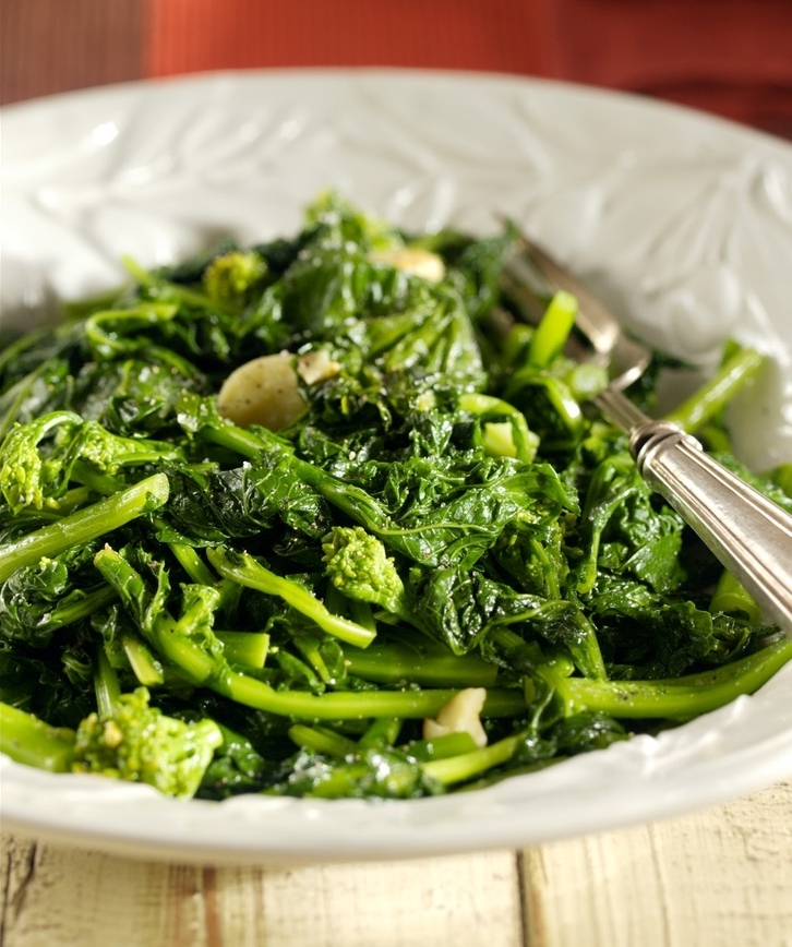 Braised Broccoli Rabe — KidneyBuzz