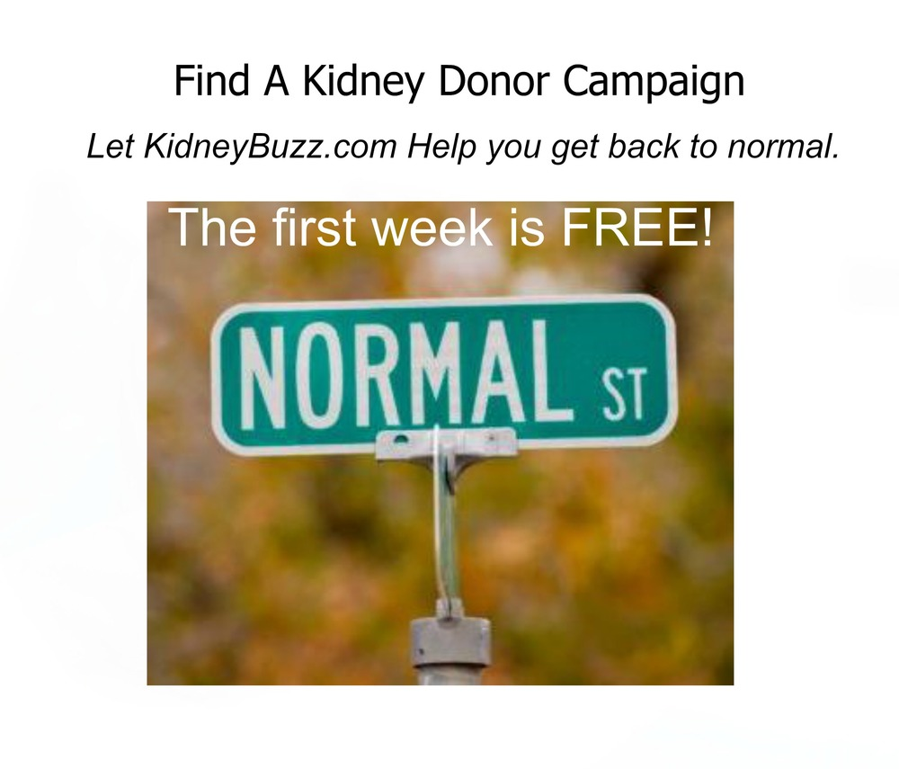Boost your chances of connecting with your life saving kidney donor. learn more.