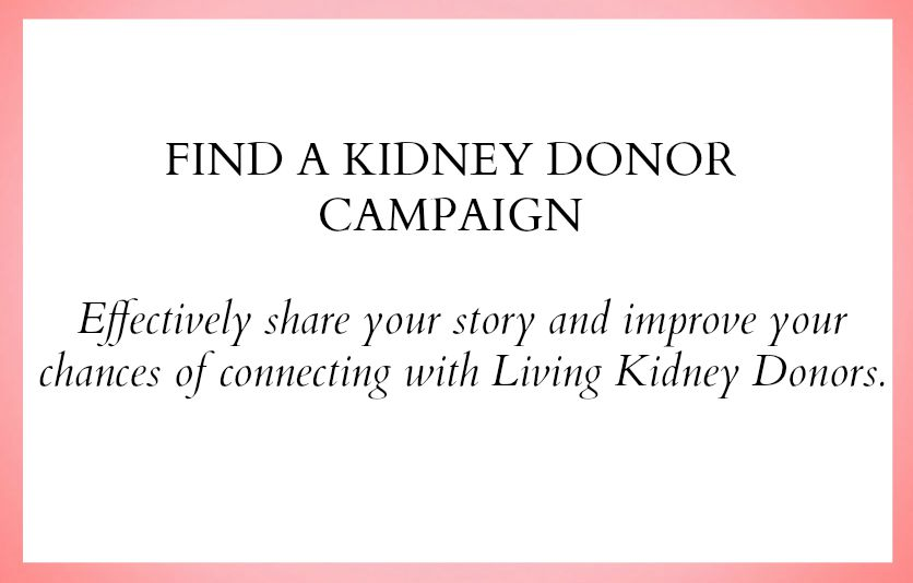 share your story and try to connect with altruistic donors. click here.