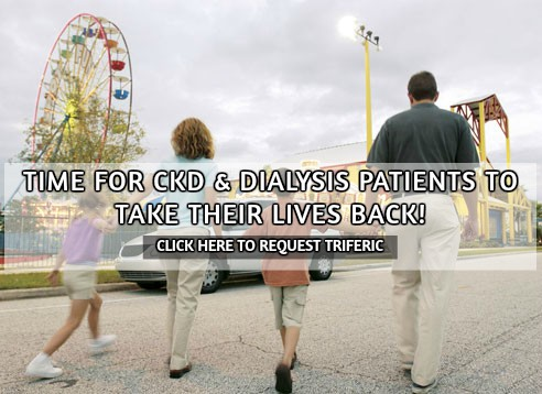 Request triferic at your dialysis center today.