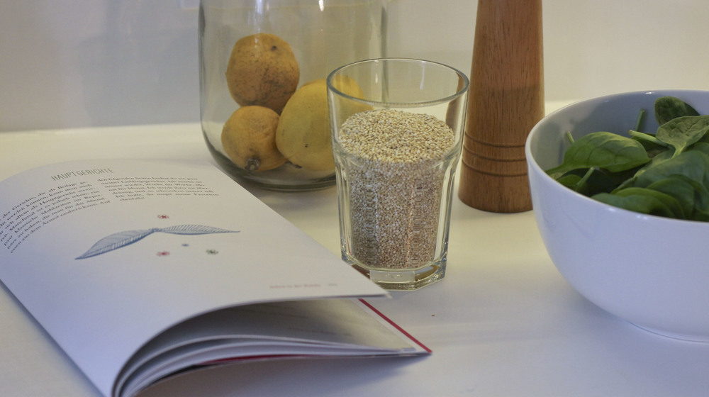 Quinoa and Spinach,Tara Stiles, dein Yoga dein Leben, Rezeptbuch, Yoga Buch, Ratgeber3242.jpg