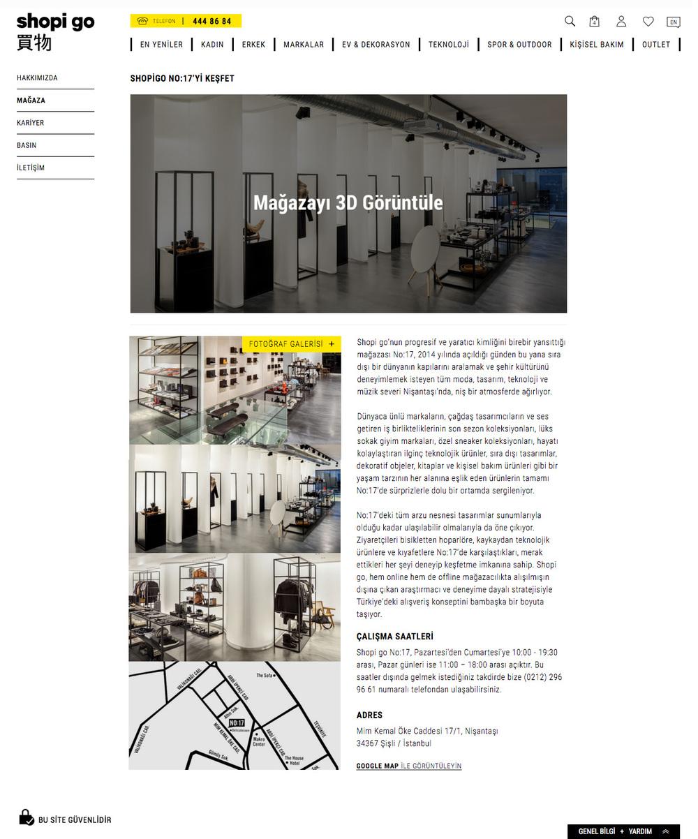 Shopi go | Store Info