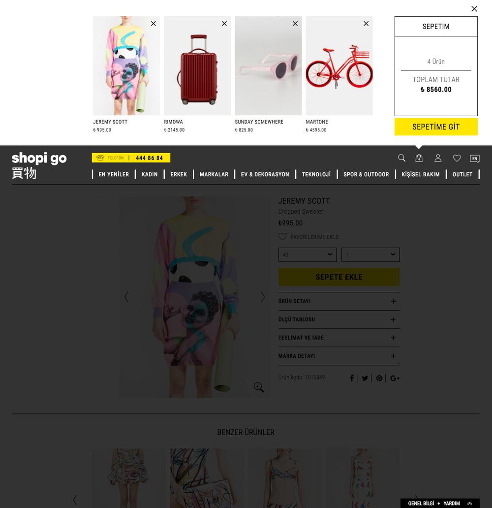 Shopi go | Basket Quickview