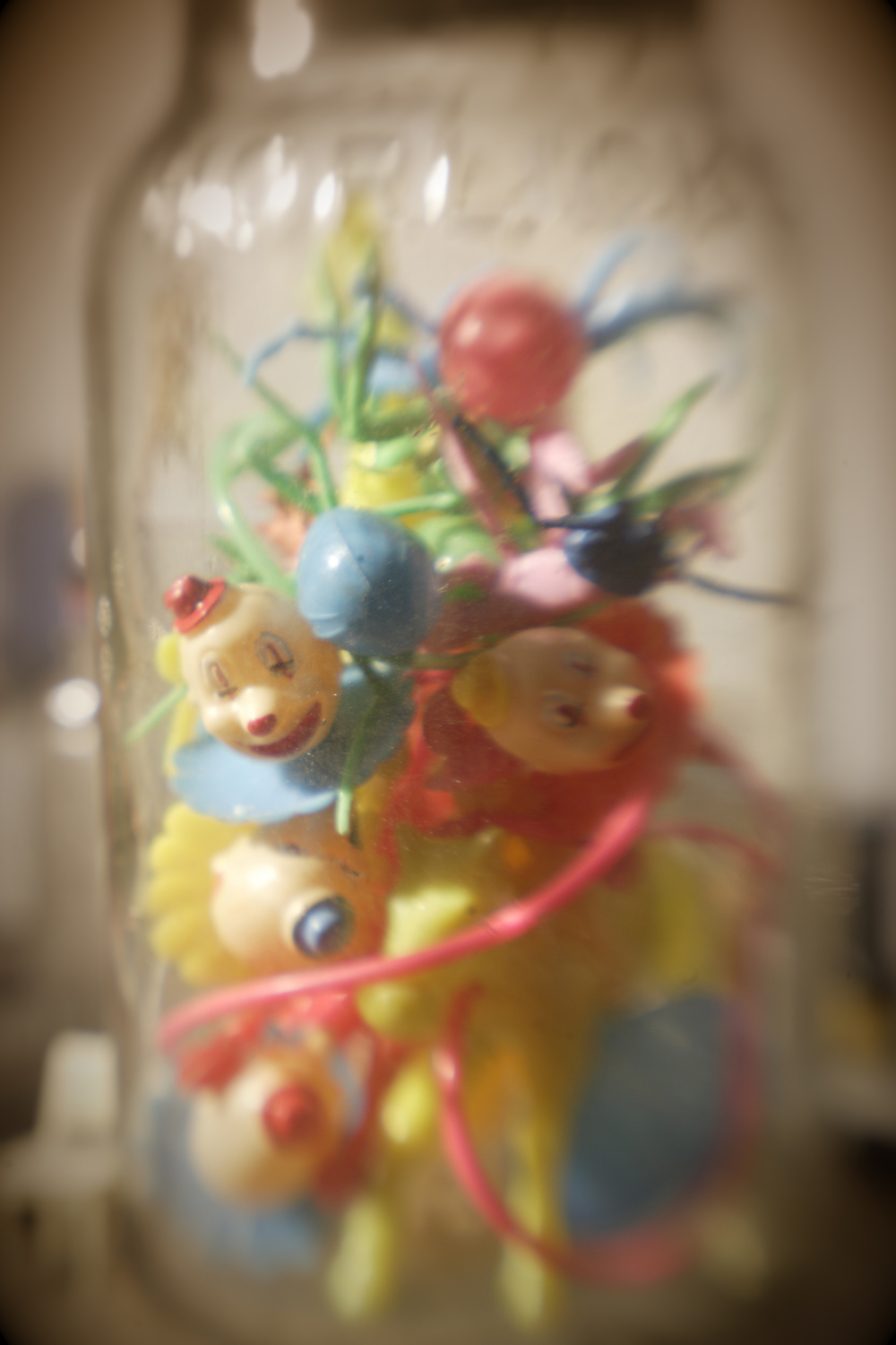 Clowns in a Jar