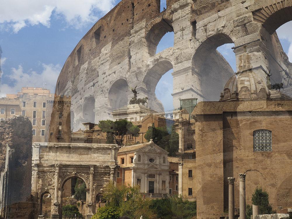 Colosseum Rome, Forum