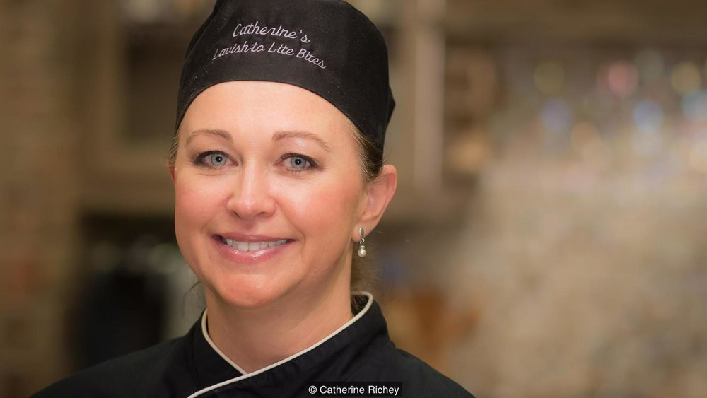 Private chef Catherine Richey says when travelling with a wealthy boss, confidentiality is the most important part of the job (Credit: Catherine Richey)