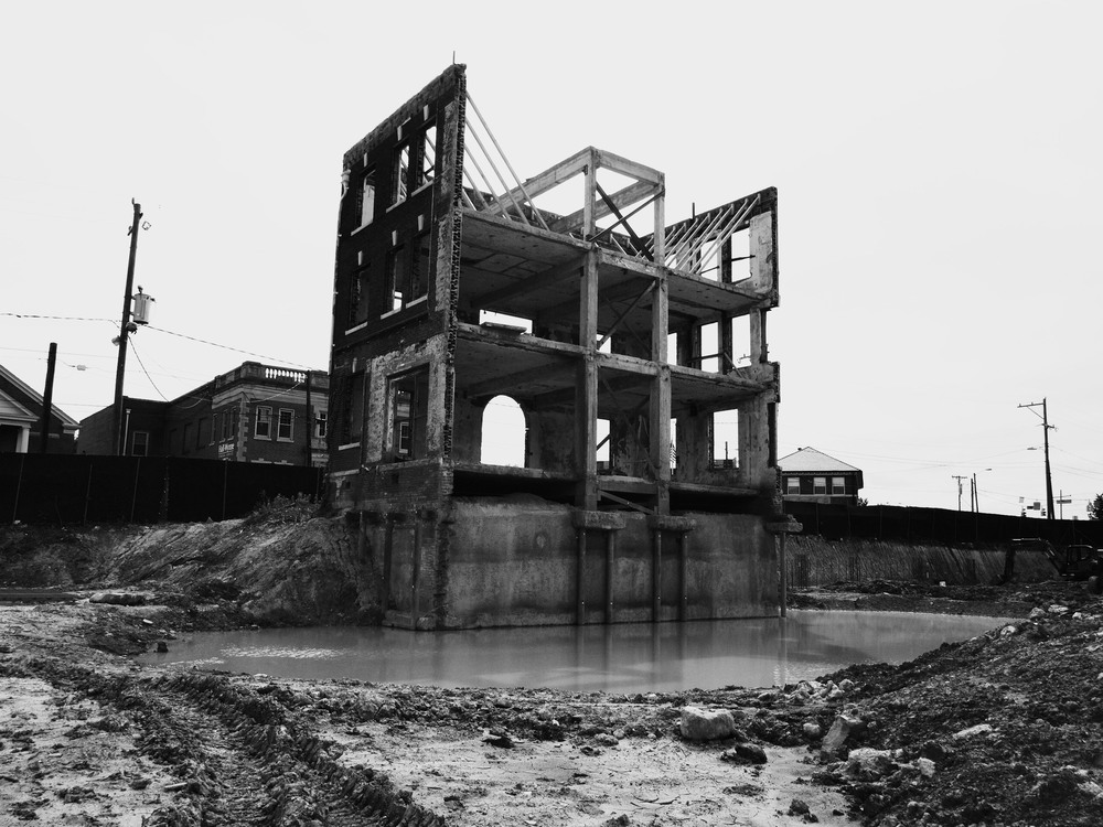 All that remains of the old  McPherson Hospital .