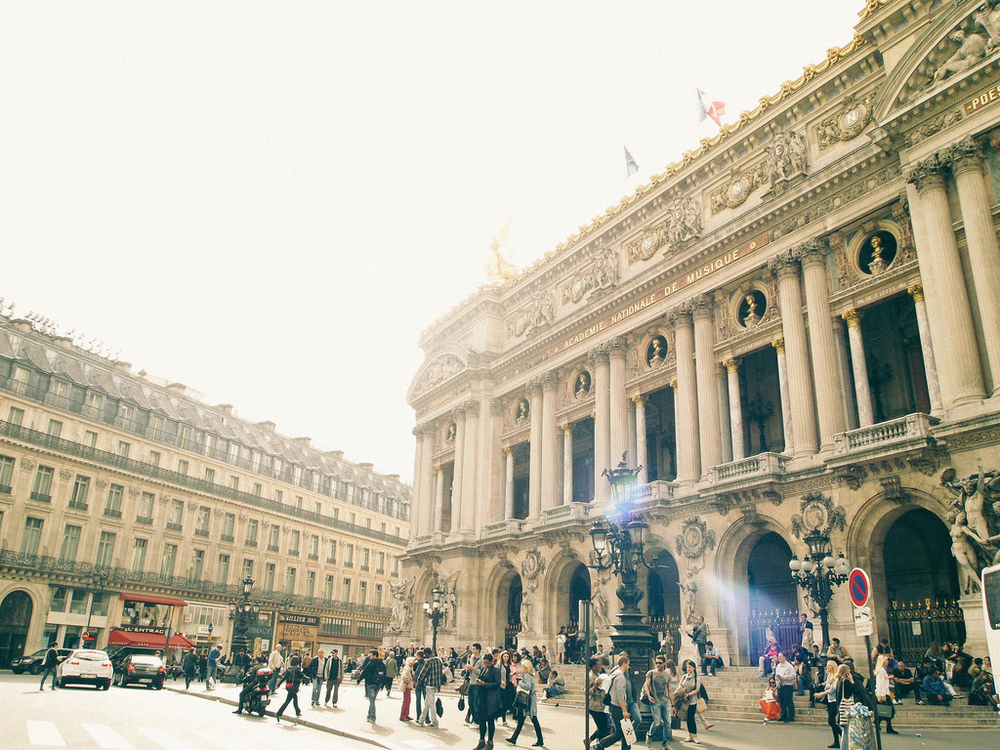 Stumbled across the Opera de Paris while lost.