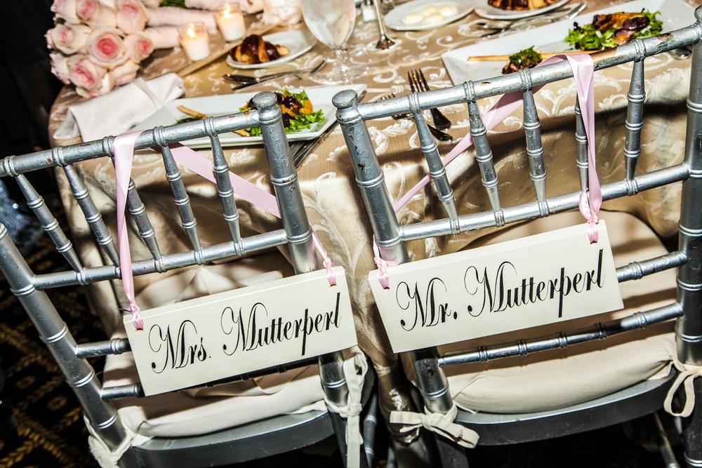 Mutterperl wedding bands