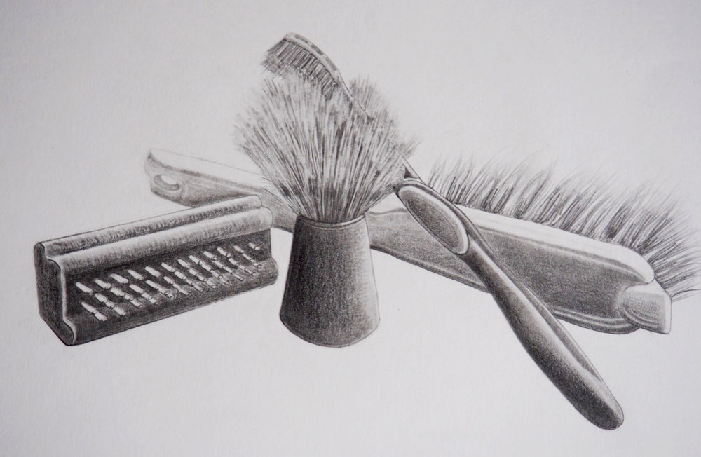 Brush, graphite