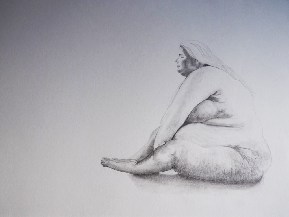 Life Drawing, graphite