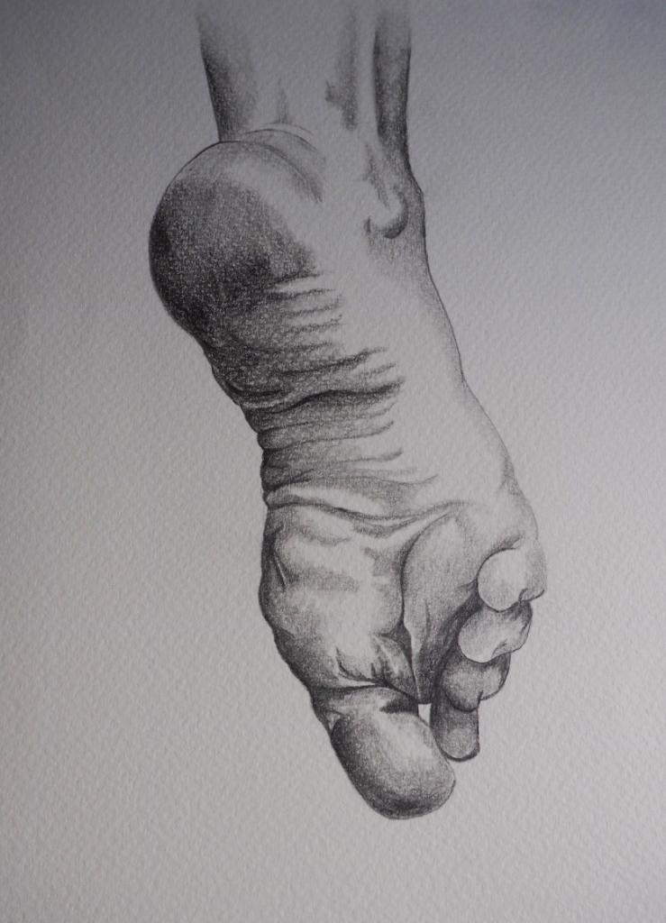 Foot, graphite