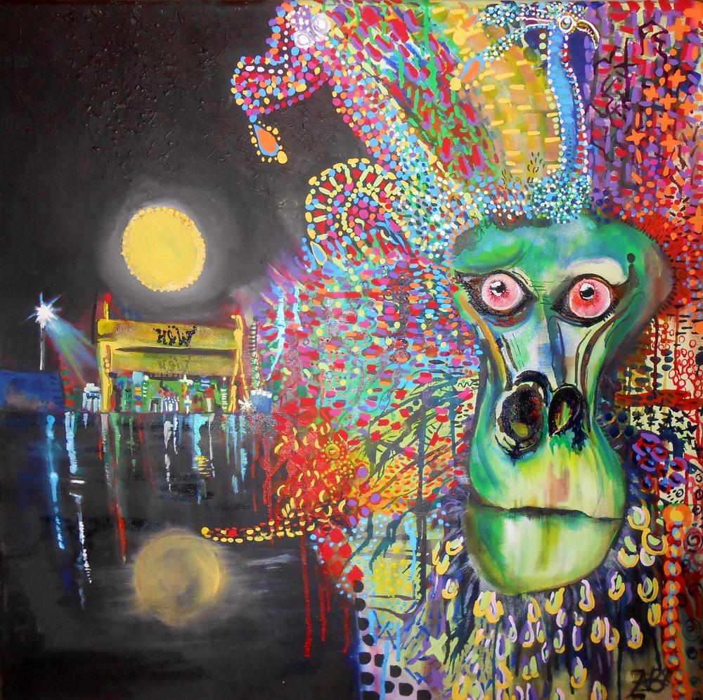 """""""Belfast Baboon"""" (2013)"""