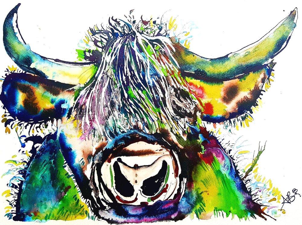 """Mr. Highland Cow"" (2014)"