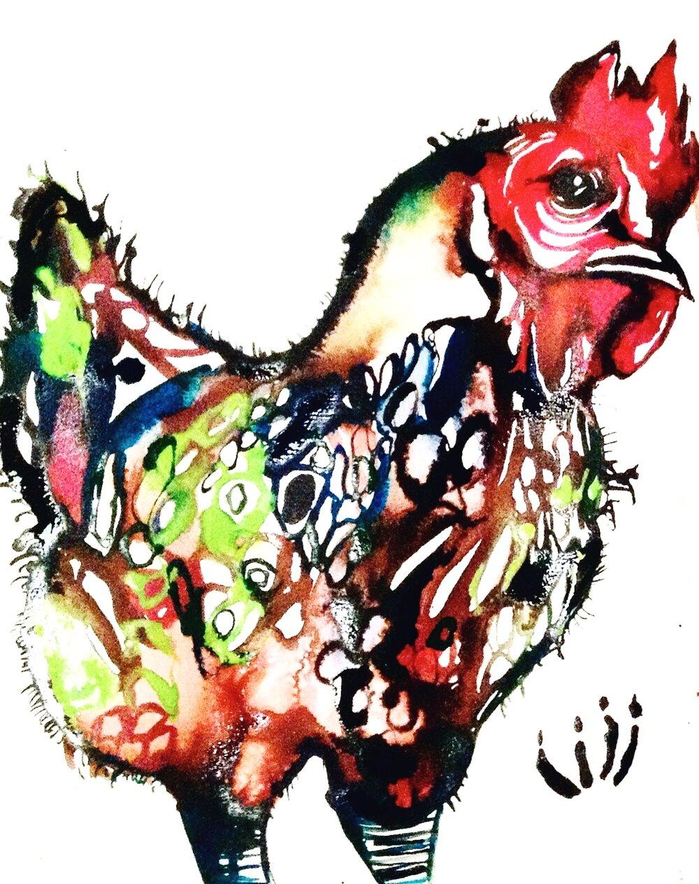 """""""Cheryl the Chicken"""" (2013)"""