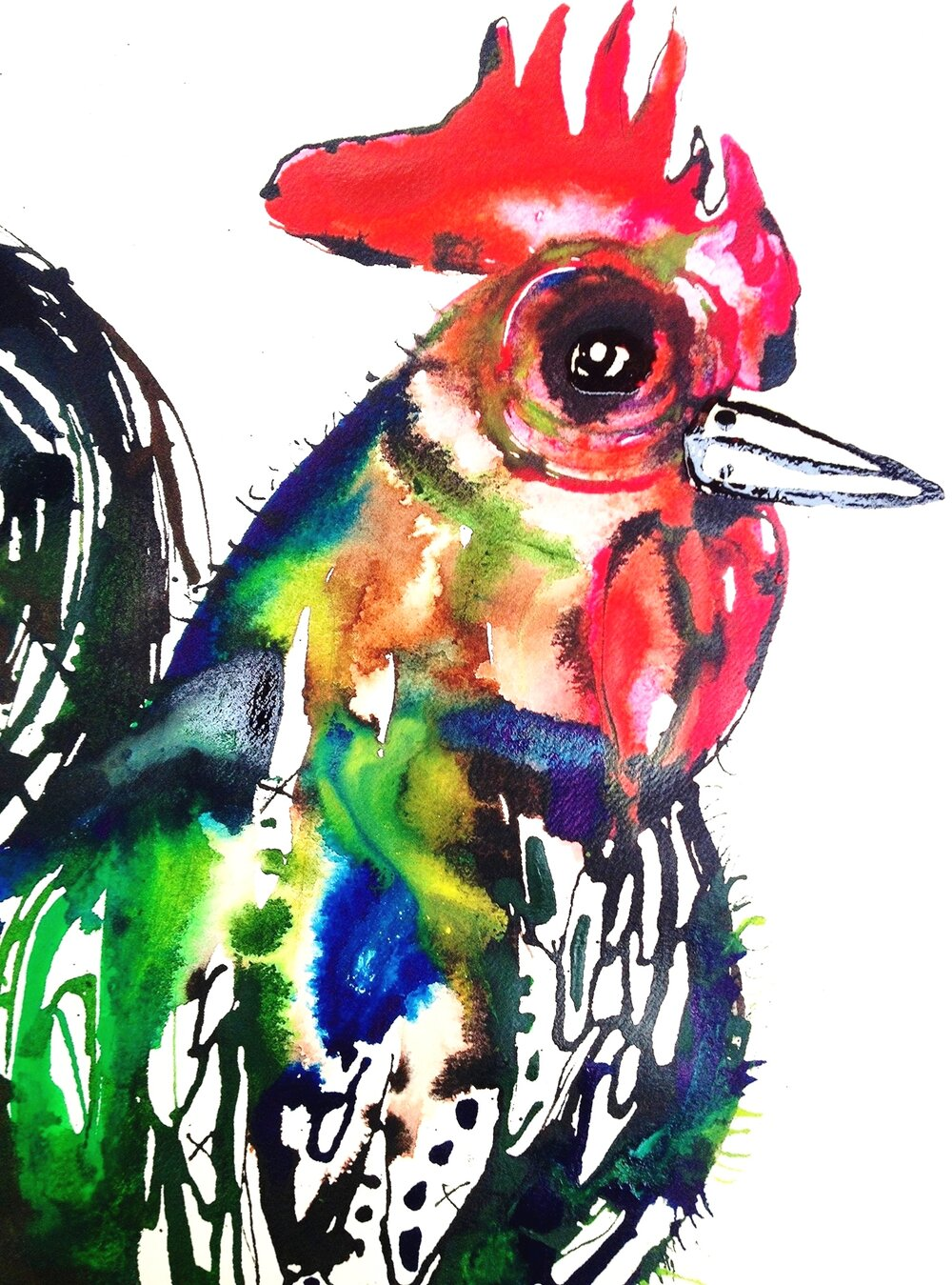 """""""Reuben the Rooster"""" (2014)"""