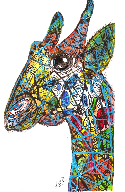 """Aztec the Giraffe"" (2015)"