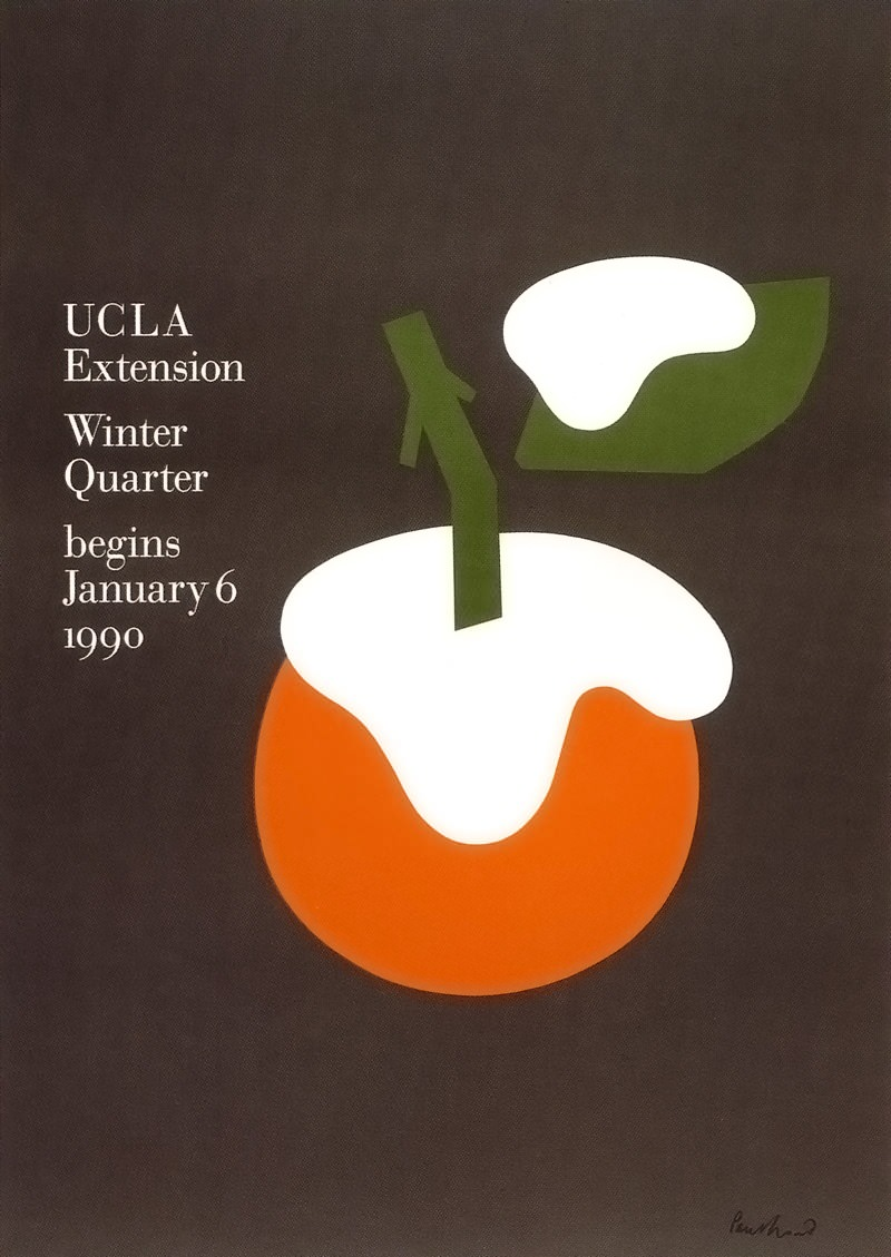 UCLA Extension, 1990 | © Paul Rand