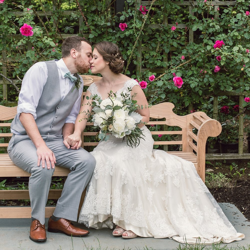 Kathryn & Chris // Morris Arboretum
