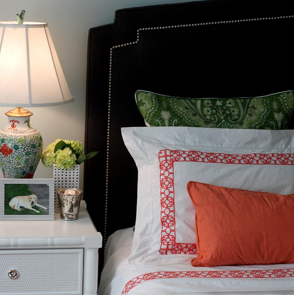 master bedroom designed by Emily Butler
