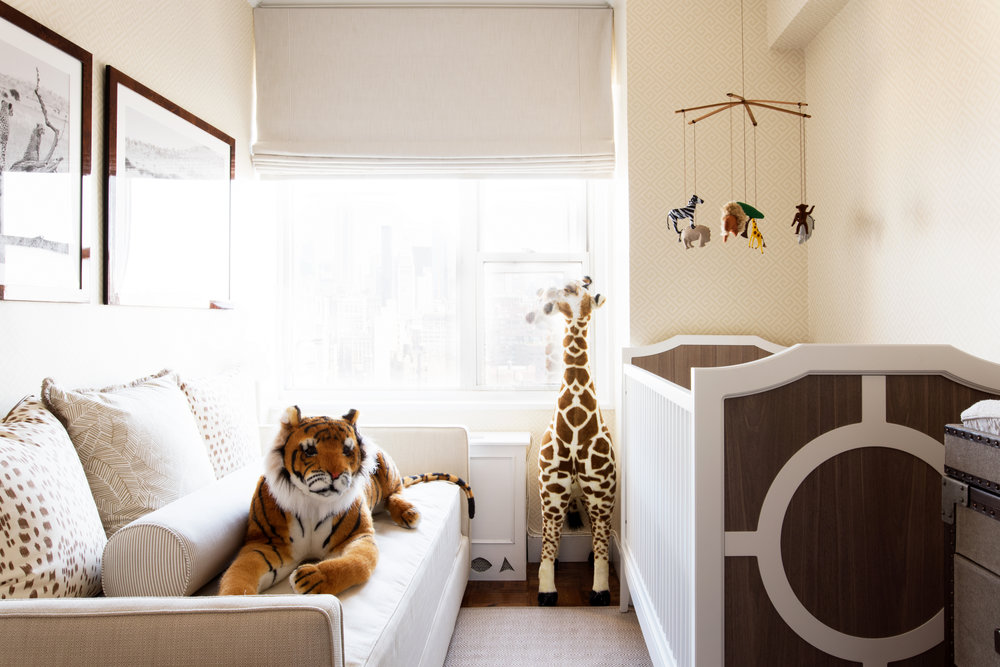Safari chic nursery design emily c butler