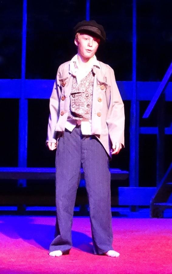 Joel Pathuis in  Les Miserables