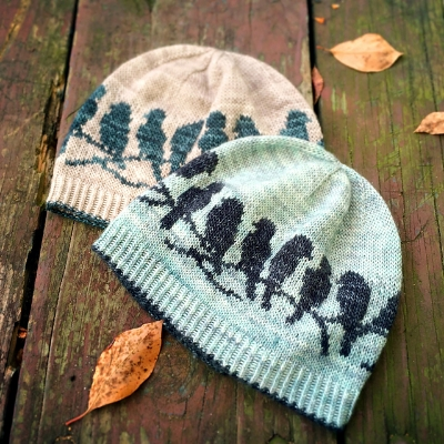 Free Workshop Advanced Fair Isle Knitting Passerine Hat