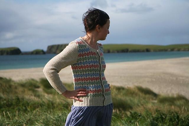 Kate Davies' Ursula Cardigan