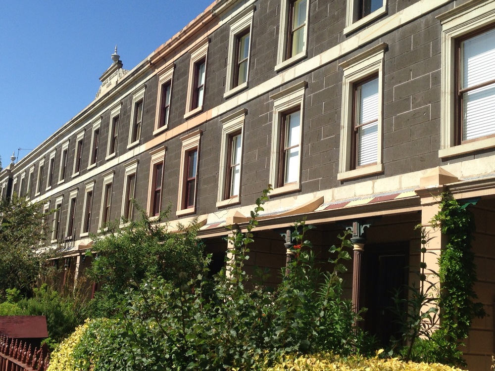 Terraces Nicholson Street Fitzroy