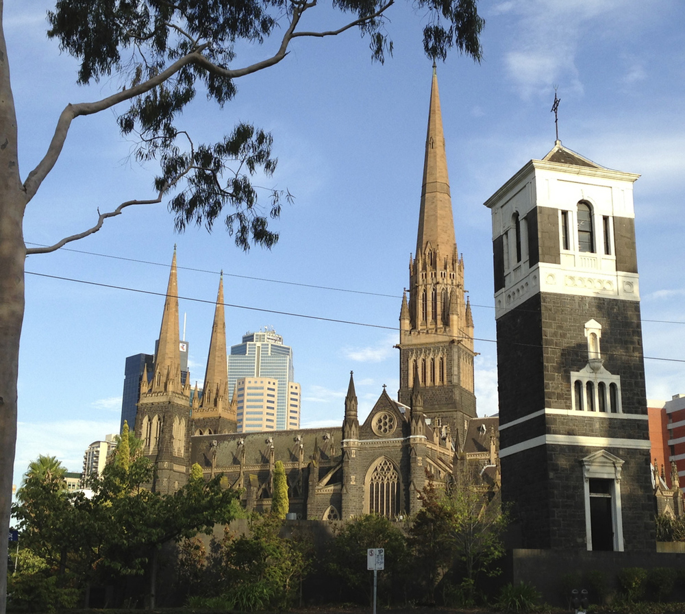 St Patrick's Cathedral as u enter the CBD from the top end