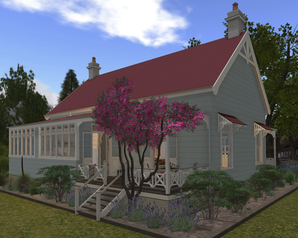 Orana Cottage in the virtual world, Second Life