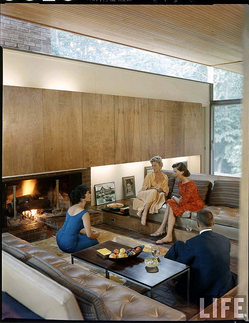Beattie residence, Rye New York (1958).