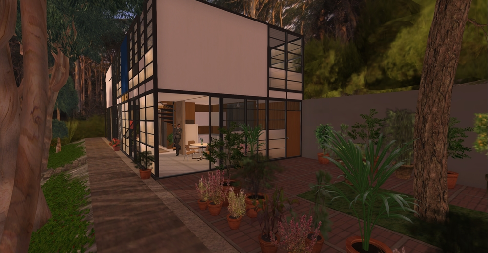 Eames House model - exterior 1