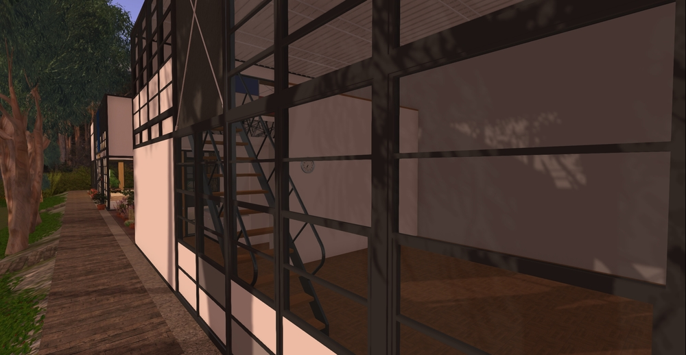 Eames House model - exterior 2