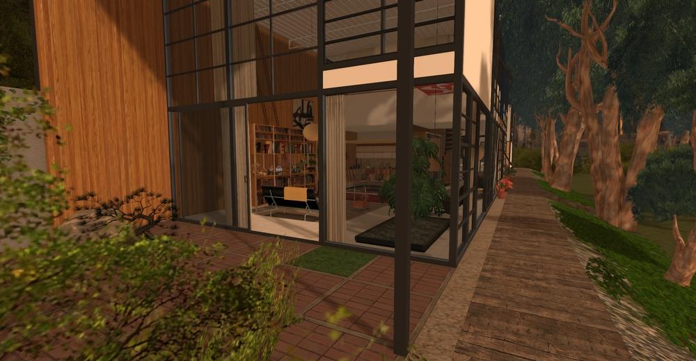 Eames House model - exterior 4